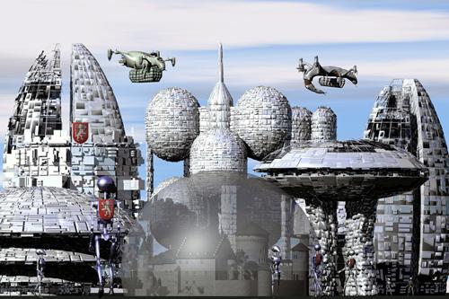 Science-Fiction-Burg