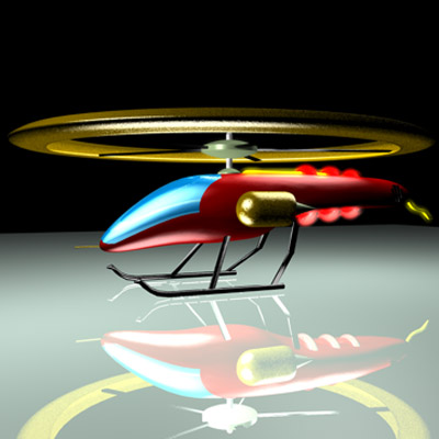 3D-helicopter