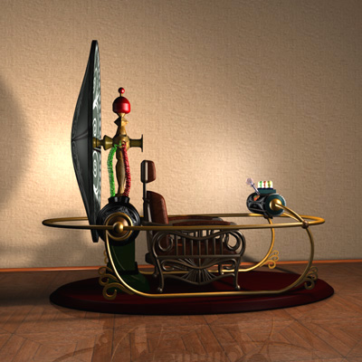 3D-Zeitmaschine, 3D-time machine