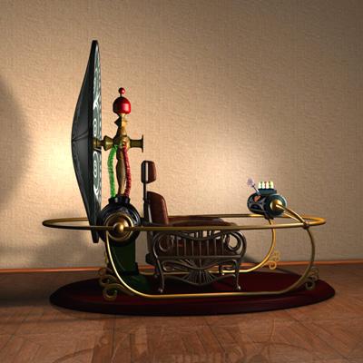 3D-Zeitmaschine, 3D-time machine