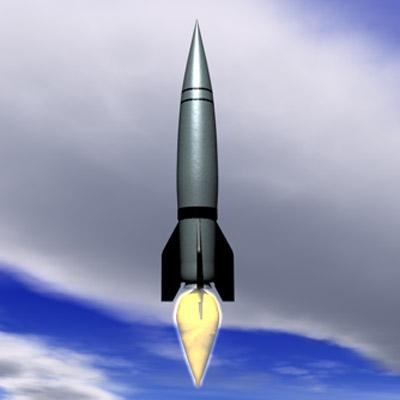 3D-V2 Rakete