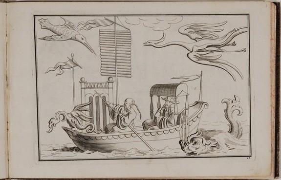 Ein Großteil dieser ehemaligen kurfürstlichen Asiatica-Sammlung hat sich in den Staatlichen Kunstsammlungen Dresden erhalten. Anhand des äußerst umfangreichen Komplexes chinesischer und chinoiser Graphiken im Kupferstich-Kabinett lässt sich nachverfolgen