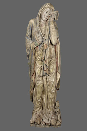 Maria aus der Triumphkreuzgruppe der Naumburger Moritzkirche