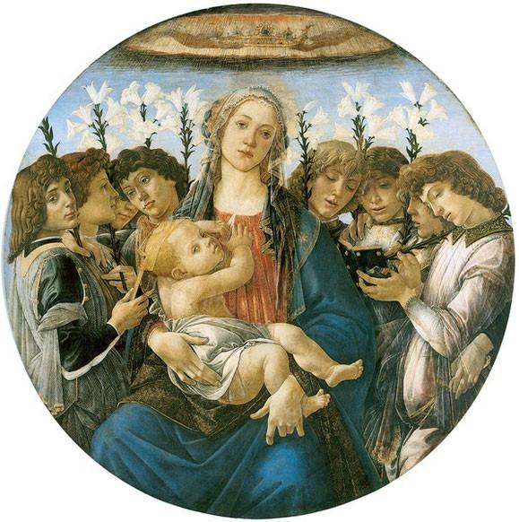 Sandro Botticelli, Tondo Raczynski, 1477, Gemäldegalerie Berlin, Foto: Jörg P. Anders