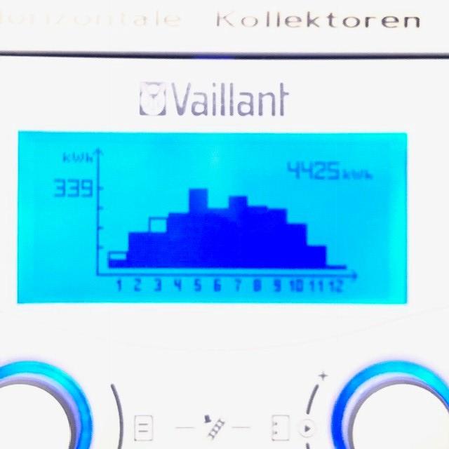 Solarblog Meiner Vaillant Solaranlage Bauprojekt2010