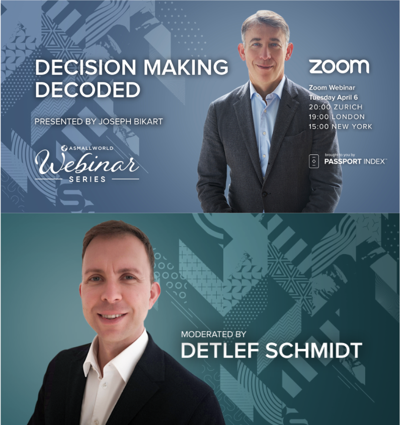 webinar moderation: decision making decoded