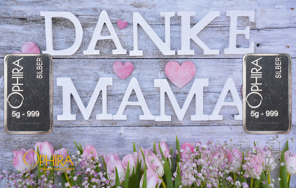 Geschenkbarren Muttertag Danke Mama