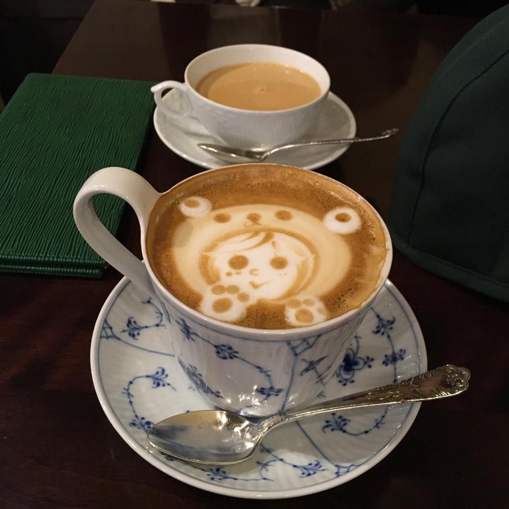 ある日の個人セッションでのお茶タイム…
