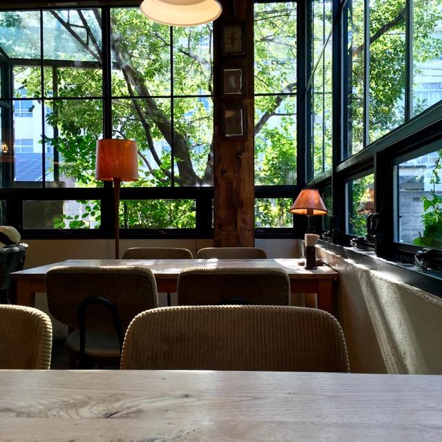 「bird cafe」にて。