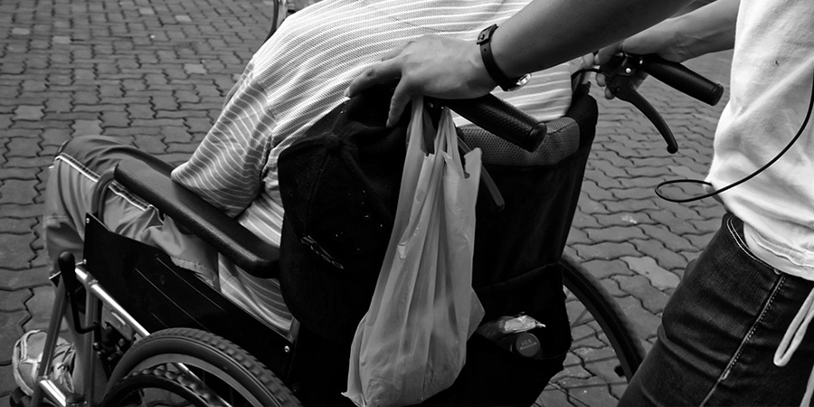 介護と車椅子