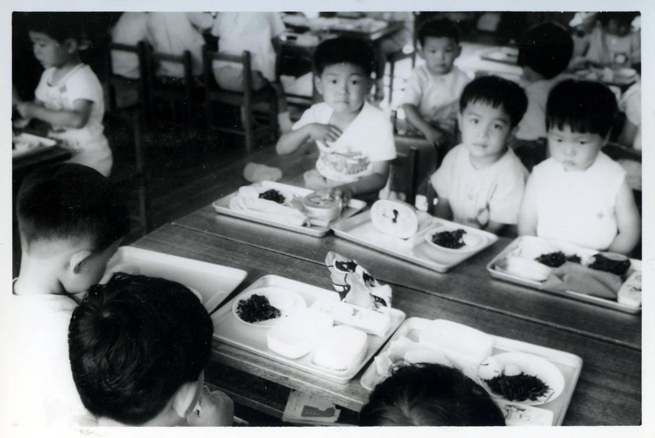 昭和50年代給食風景