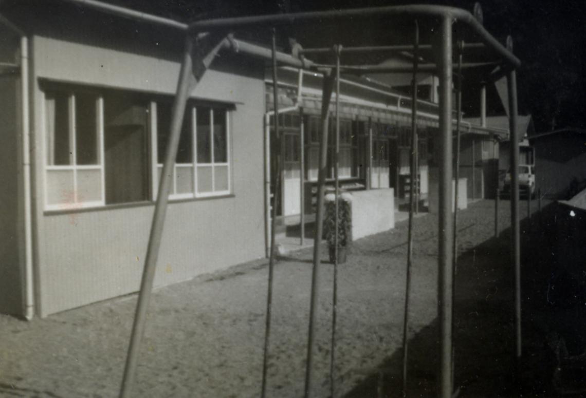 開園当初の園舎
