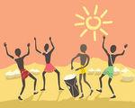 Dudù(Doudou) Kouate   Nasce in Senegal nel 1963 da una famiglia di griot,noti per essere i conservatori della tradizione culturale e musicale africana.Dopo gli studi umanistici nel suo paese parte per l'Europa.Vive a bergamo dove insegna le percussioni af