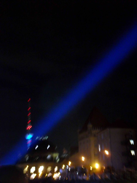 Festival of lights - Berlin 2011 - Light-Ship + Bus Tour (Mit den Augen eines Sehbehinderten)