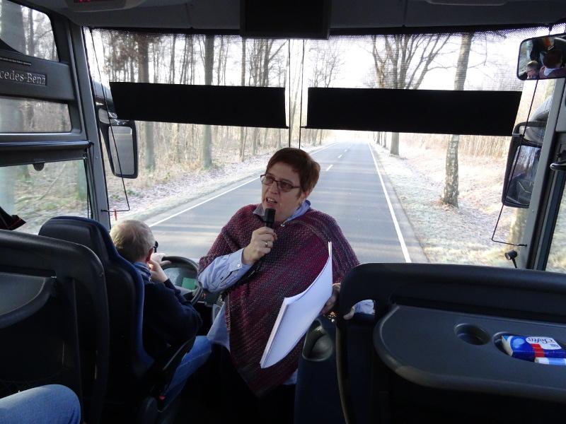 Unsere Reiseleiterin Marion Krenz