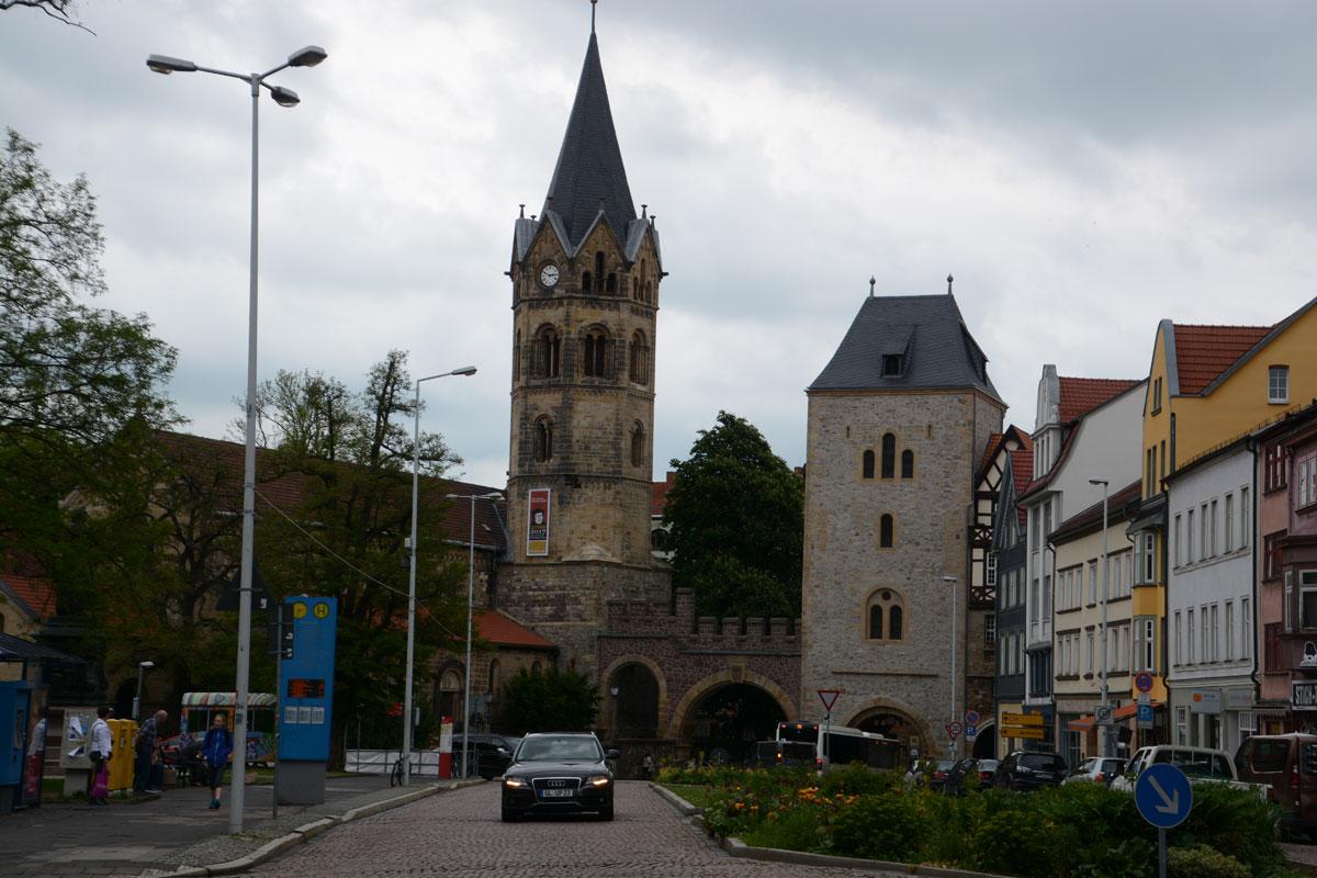 Nikolaiturm und Nikolaitor