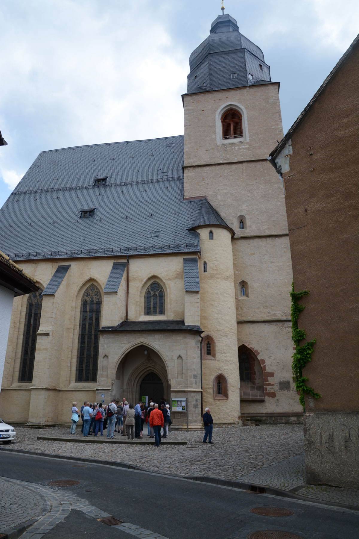 St.-Petri-Pauli-Kirche, Taufkirche Martin Luthers