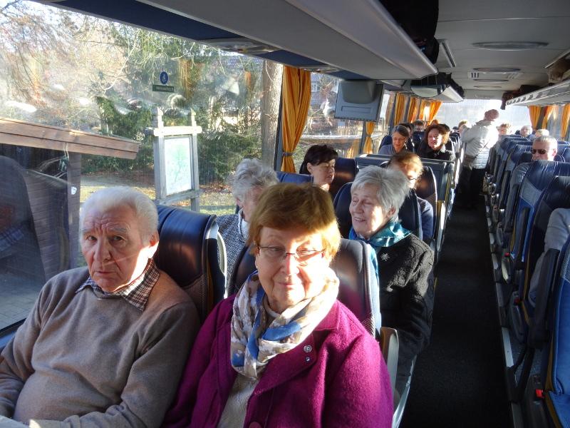 Reisegruppe im Bus