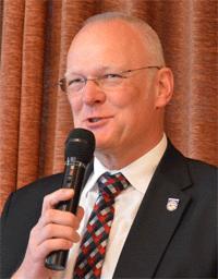Bild des Samtgemeindebürgermeisters J. Warncke