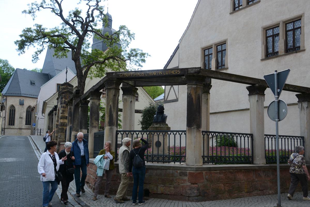 Geburtshaus von Martin Luther