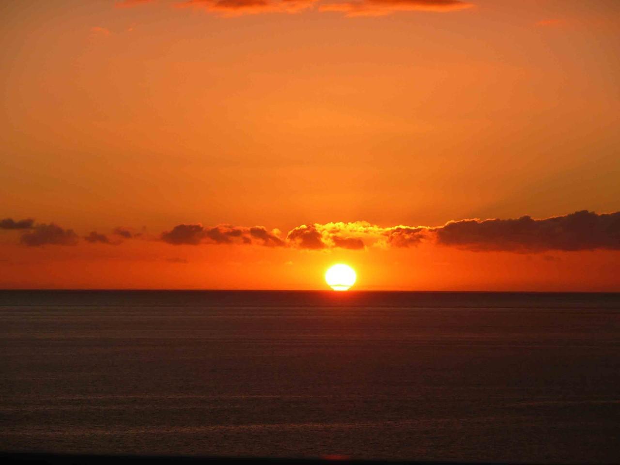 COUCHER DE SOLEIL SUR L'OCEAN PLAGE DE SOUSTONS