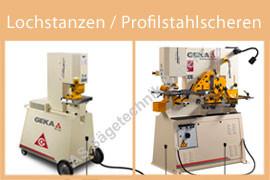 Lochstanzen / Profilstahlscheren