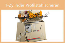 1-Zylinder Profilstahlscheren