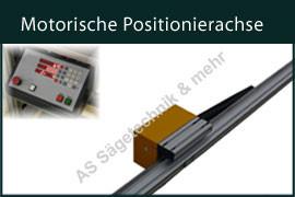 Auswahl Motorische Positionierachsen