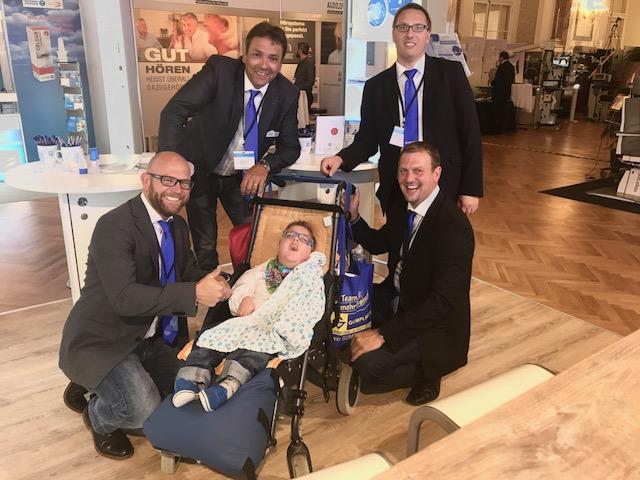 Das beste Team für ein österreichisches Tracheotomiertes Kind, hier wird noch mit viel Herz gearbeitet um gemeinsam eine optimale Lösung zu finden!