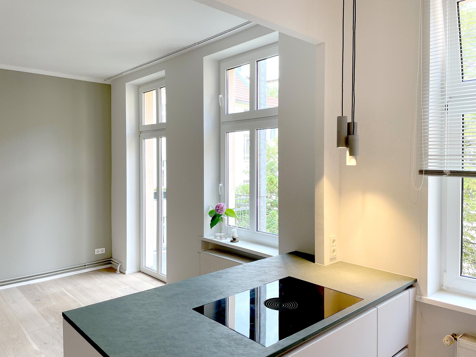 Fertigstellung der Renovierung einer kleinen Wohnung in Berlin-Prenzlauer Berg