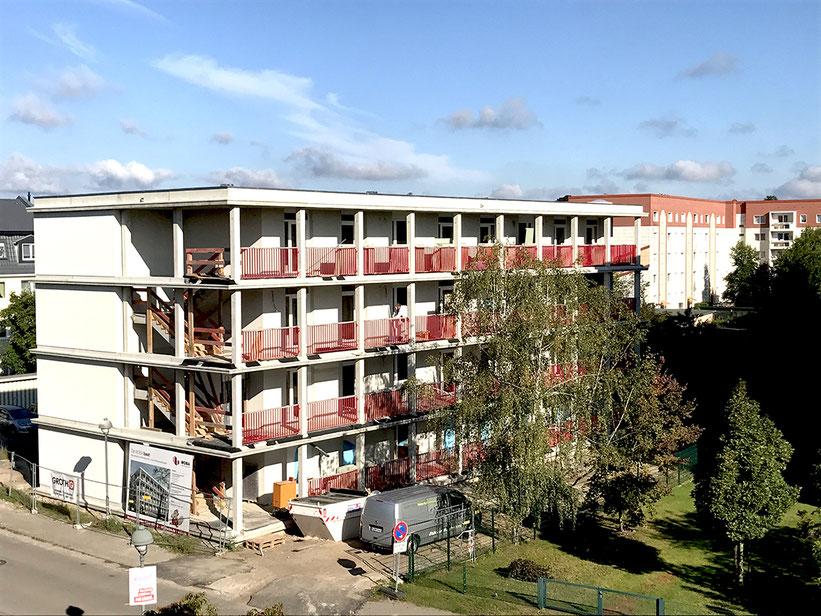 Frühere Fertigstellung Mehrfamilienhaus Oranienburg