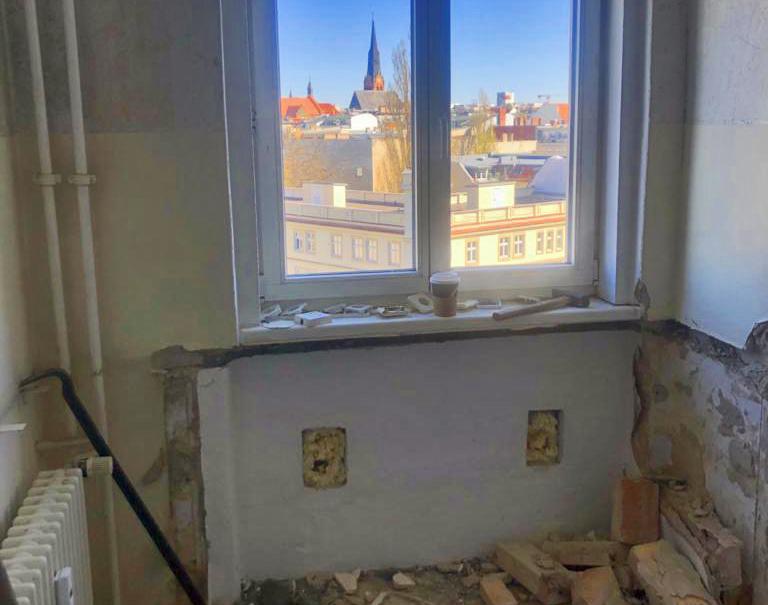 Neues Projekt in Berlin-Friedrichshain: Sanierung einer kleinen Altbauwohnung