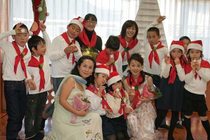 2011年12月17日 カントルム井の頭のクリスマスキャロル ソプラノ歌手 伊藤恭子さんと