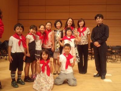 ●2012年8月25日第7回BIJファミリーコンサート 「東日本大震災で被災した子供たちを支援するコンサート」