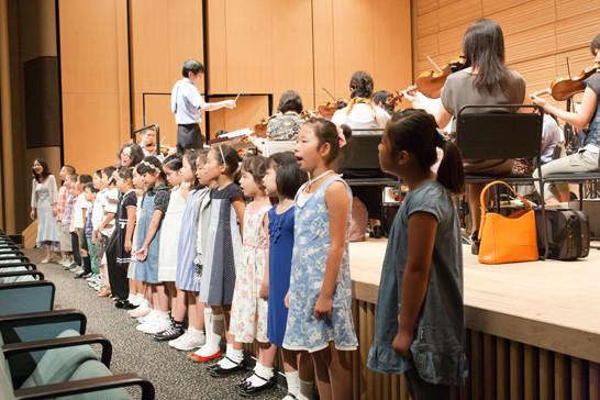 2011年8月 ジャパンシンフォニアと第6回BIJファミリーコンサート 「東日本大震災で被災した子供たちを支援するコンサート」リハーサル風景