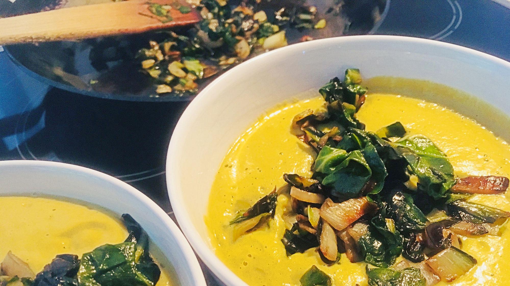 Cremige Brokkoli - Suppe