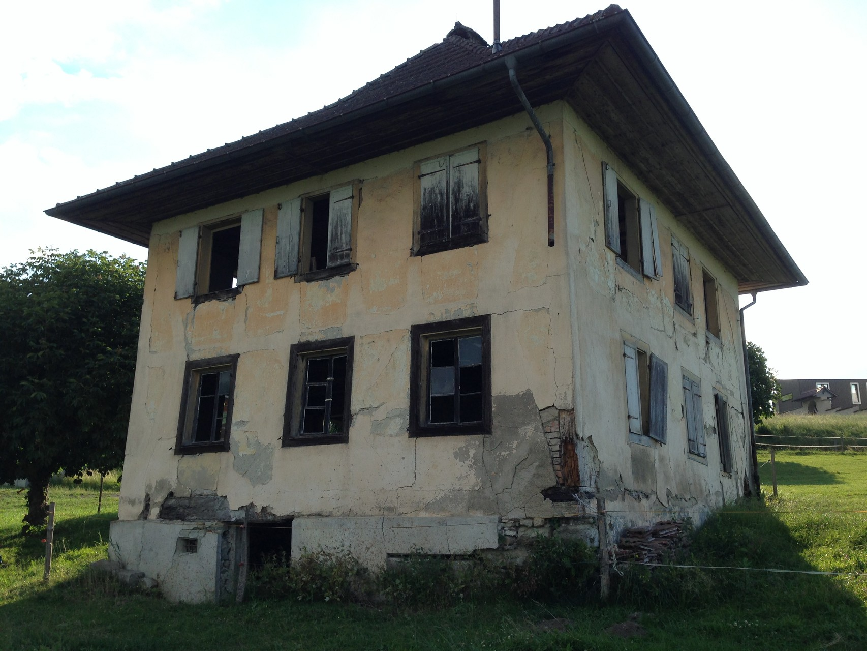 Ost- und Südfassade vorher