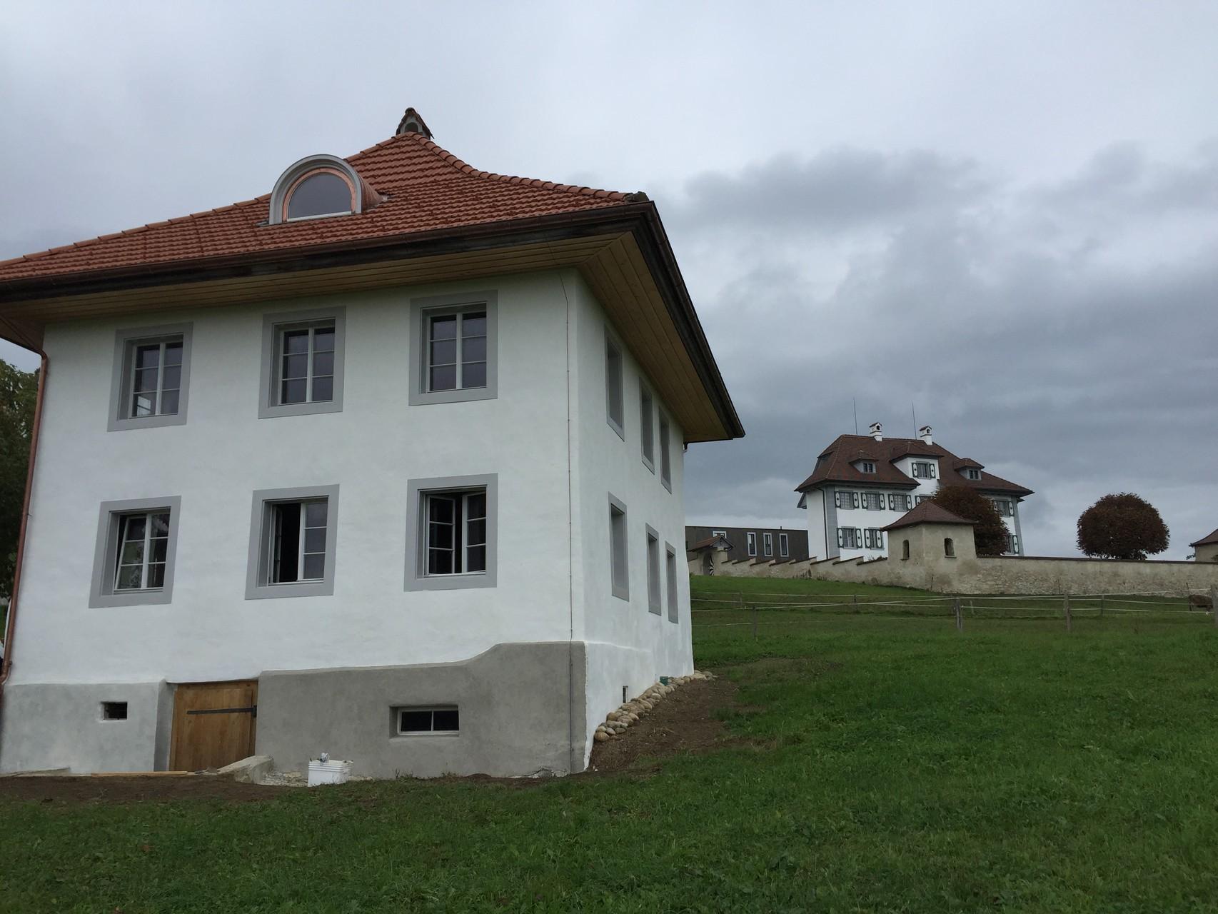 Ost- und Südfassade nacher