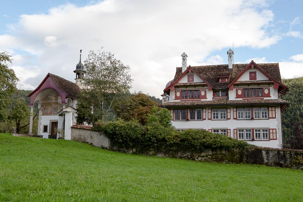 Haus Immenfeld mit Kapelle (langeneggerpictures)