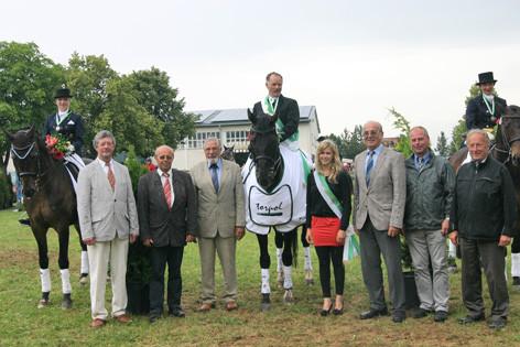 Die neuen sächsischen Landesmeister in der Dressur 2012