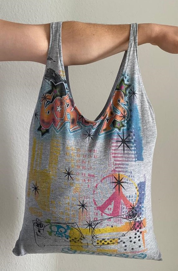 Schnelles T-Shirt Upcycling