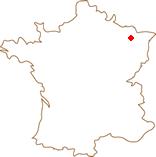 """Situation des gîtes """"La vue de château"""""""