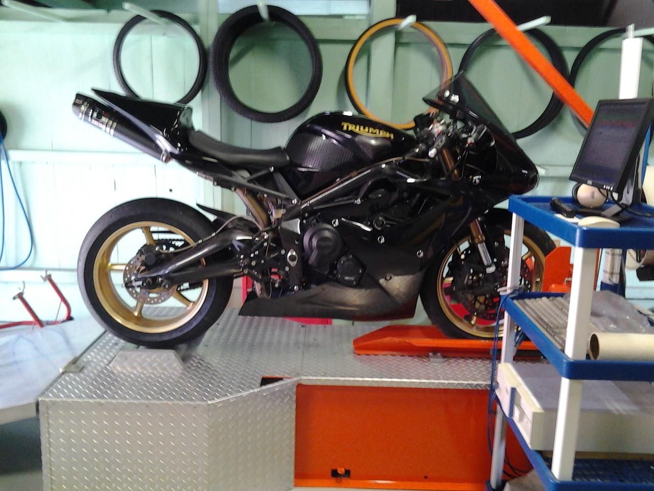Controle sur banc jusqu 39 a 125 cc 35 fournier motos - Banc de puissance moto occasion ...
