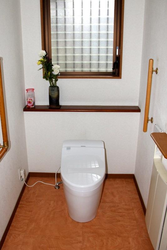 タンク付きトイレからタンクレストイレへ 【 福津市 S様邸 】