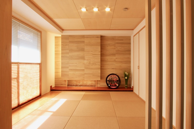和室(和紙畳)