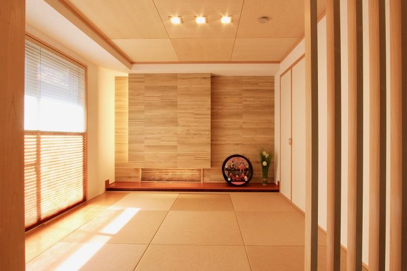 アクセント壁 にタイル建材「 エコカラットプラス 」を施工【福津市 N様邸】