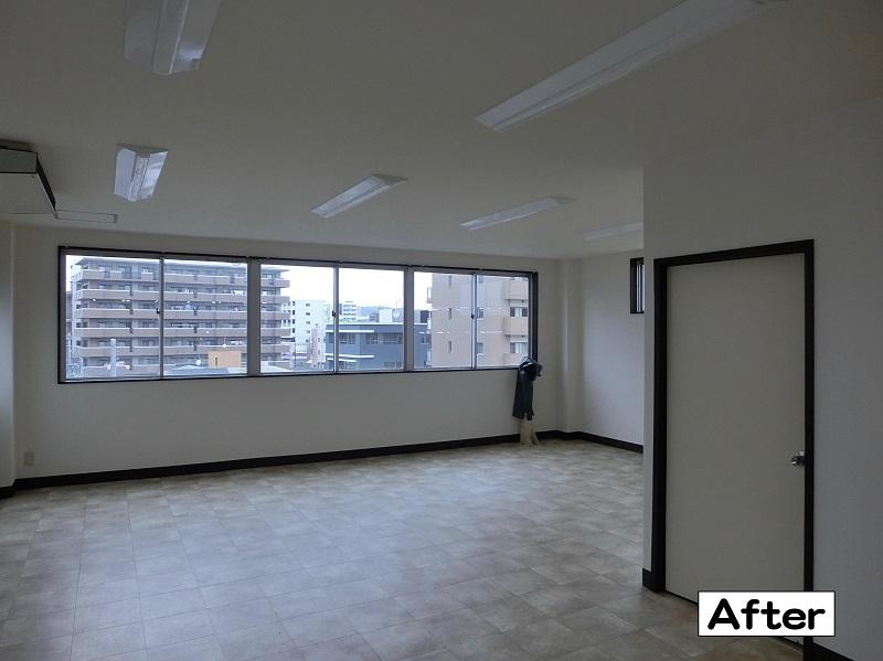 ビル改修工事【福岡市東区】