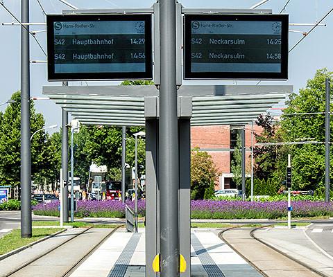Outdoor-TFT Neckarsulm
