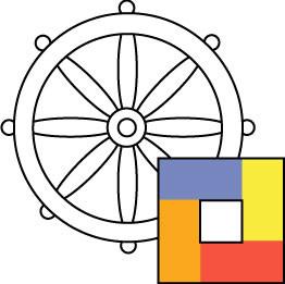 """Logo """"Interkultureller Buddhistischer Verein Bern"""""""