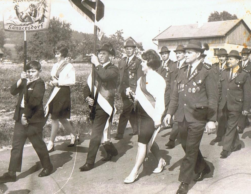 Schützenfahnenweihe 1976